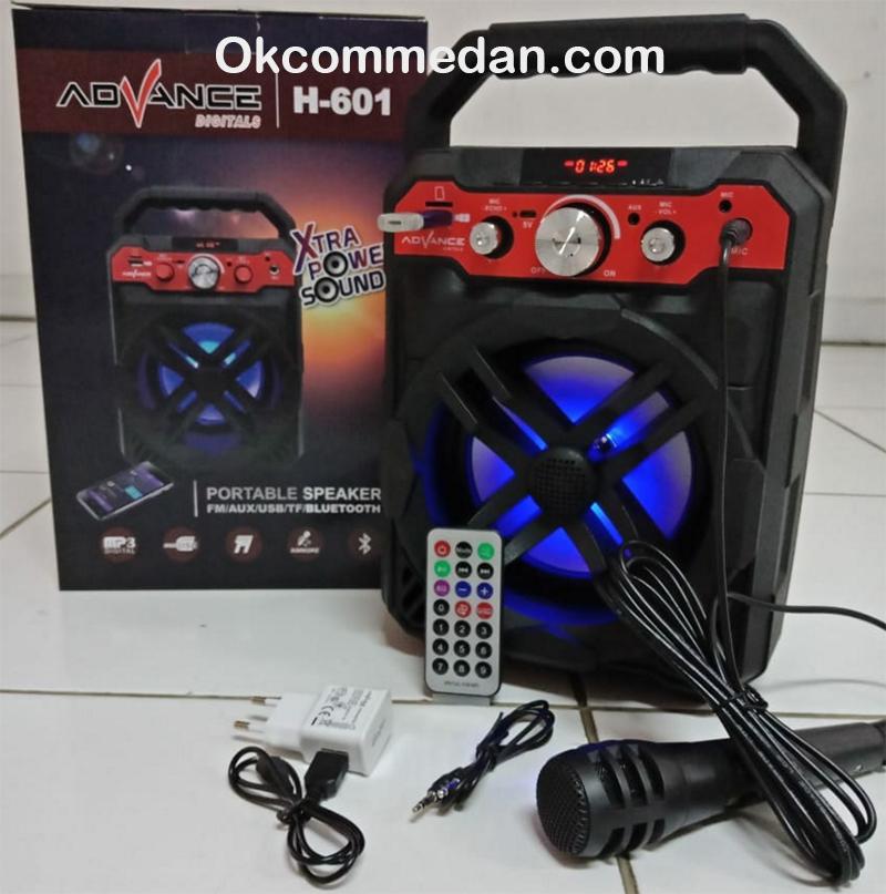 Advance H-601 Speaker Bluetooth dan Mic