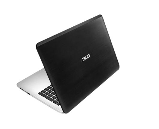 notebook asus x555qg depan