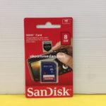 Sandisk SD Card 8 gb Class 4 Bergaransi