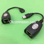 Jual USB Extender 45 mtr memakai kabel Lan berkualitas