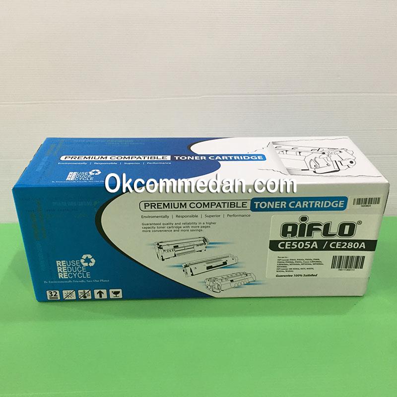Aiflo toner Kompatibel untuk HP CE505a