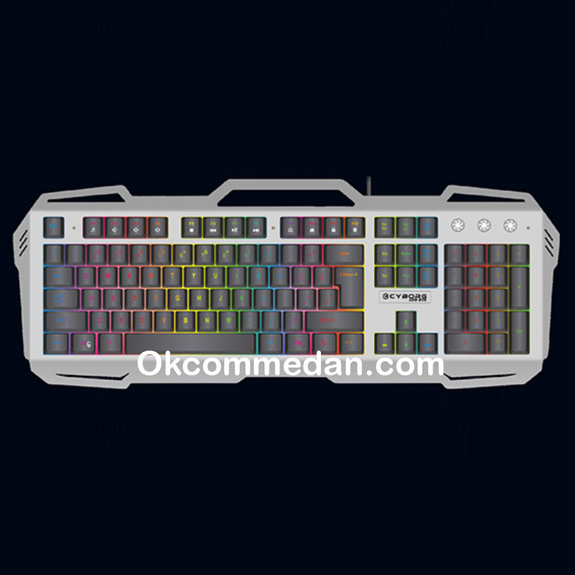 Jual Cyborg CKG-079 Keyboard Gaming