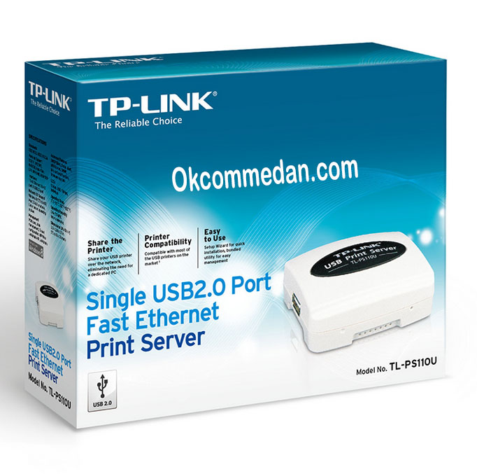 Tplink TL-Ps110u Print server USB