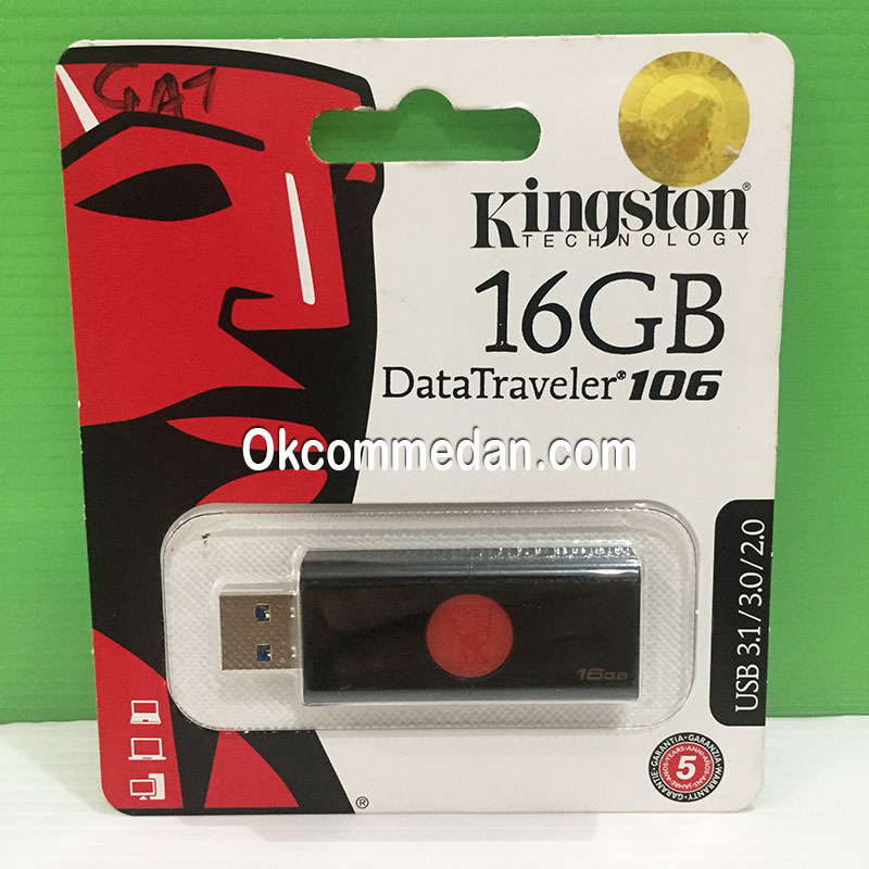 Harga Kingstone Flash disk DT106 16 GB USB 3,0