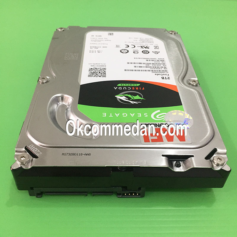 Seagate Harddisk Firecuda SSHD 2 Tera ( ST2000Dx002 )