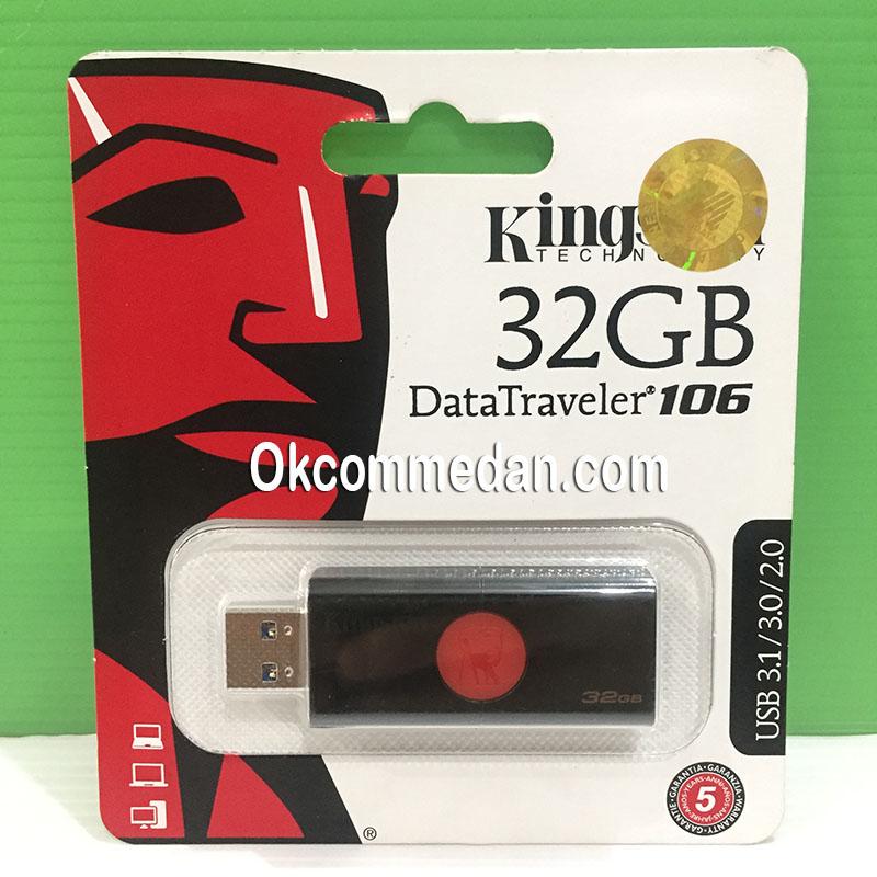 Jual Kingstone Flash drive 32 GB DT106 Usb 3.0