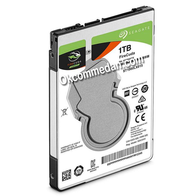 Seagate firecuda SSHD 1 Tera untuk notebook