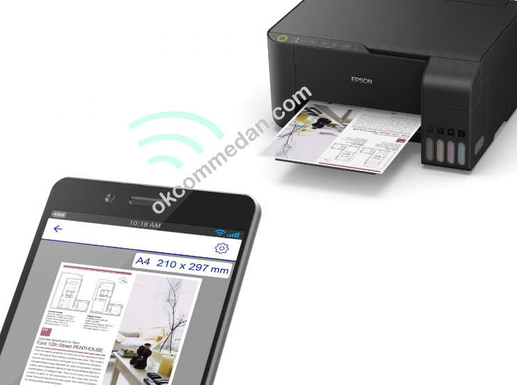 printer epson l3150 wireless