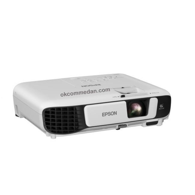 projektor epson w41 samping