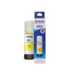 Tinta Epson 003 Yellow Asli warna kuning