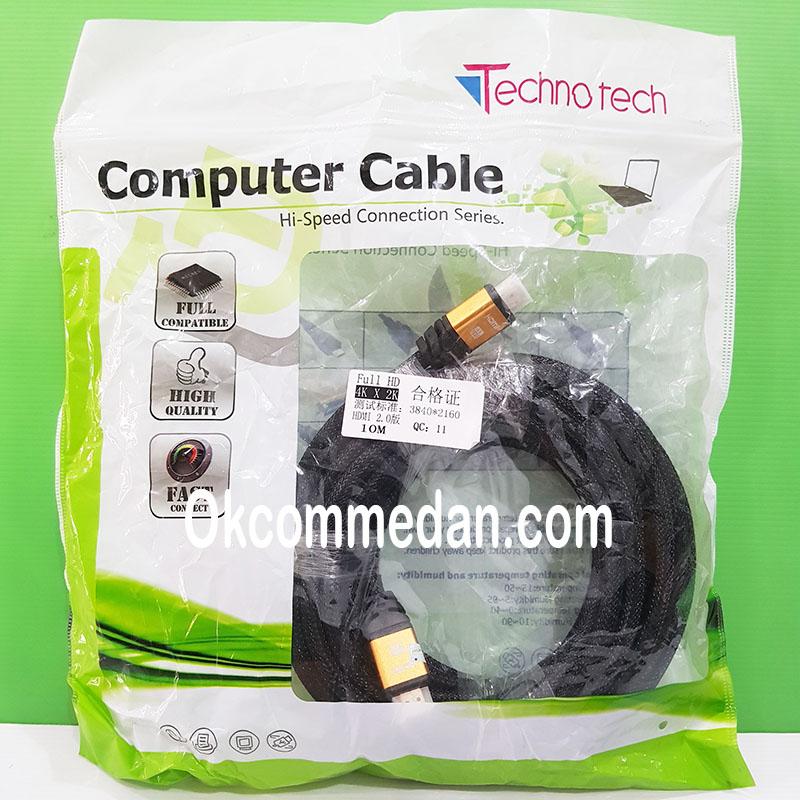 Jual Kabel HDMI 4K 10 meter merek Technotech