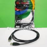 Kabel USB Jantan Jantan 2 meter merek Howell