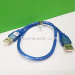 Kabel USB Jantan Jantan Merek NYK Panjang 50 cm