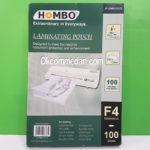 Plastik  Laminating Merek Hombo Ukuran F4