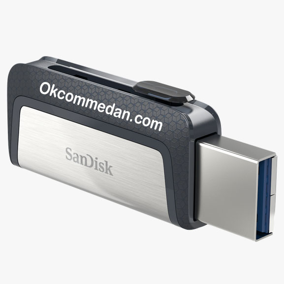 Flash Drive Sandisk Ultra Dual Drive USB Tipe-C 16 Gb
