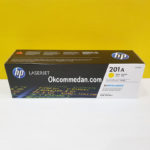 HP Toner Catridge  201a Yellow ( CF402a ) Asli
