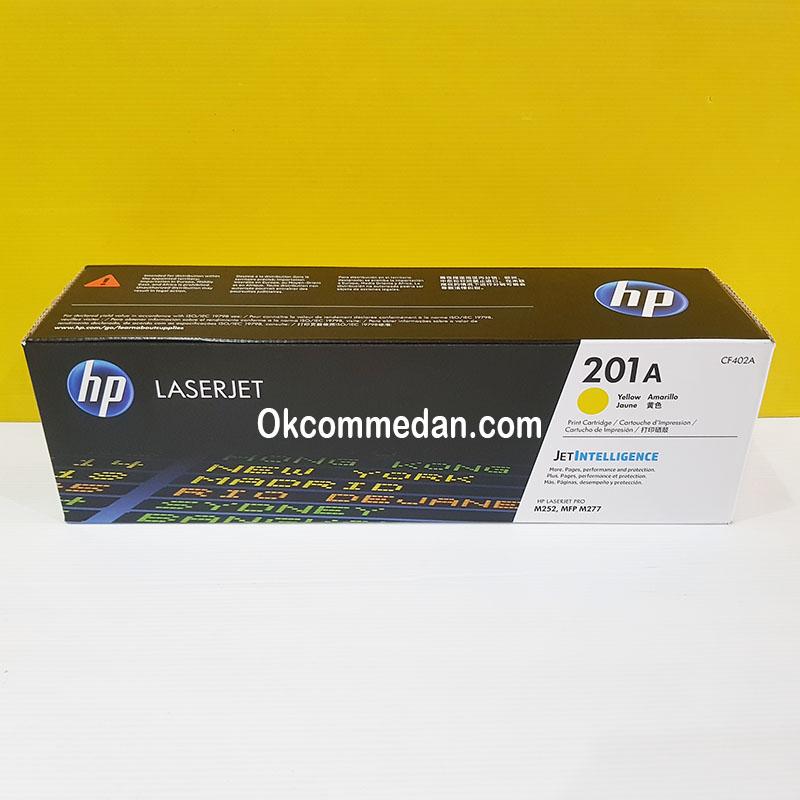 HP Toner Catridge 201a Yellow ( CF402a ) Asli