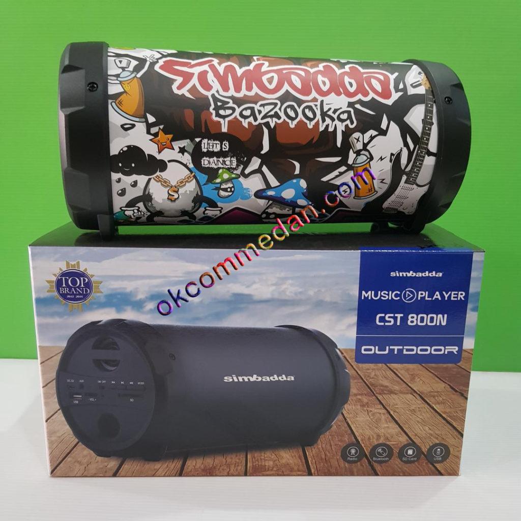 speaker simbadda bazooka cst800n graffiti