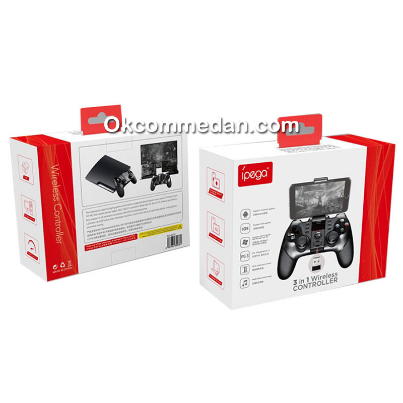 IPega 9076 Gamepad Bluetooth dan Wireless