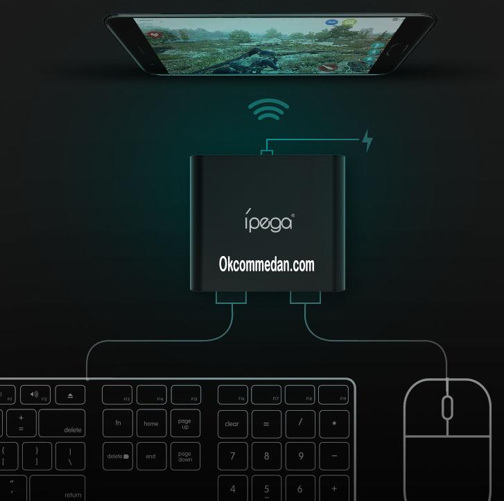 Jual IPega PG 9096 Konverter USB Keyboard dan mouse ke Bluetooth