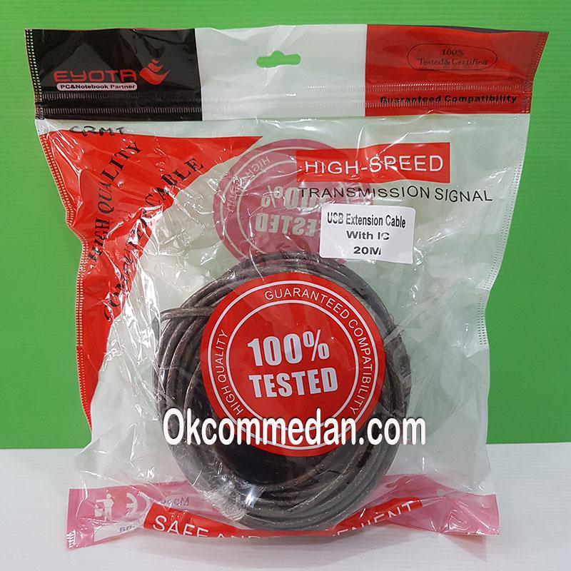 Jual Kabel USB Perpanjangan 20 meter dengan IC
