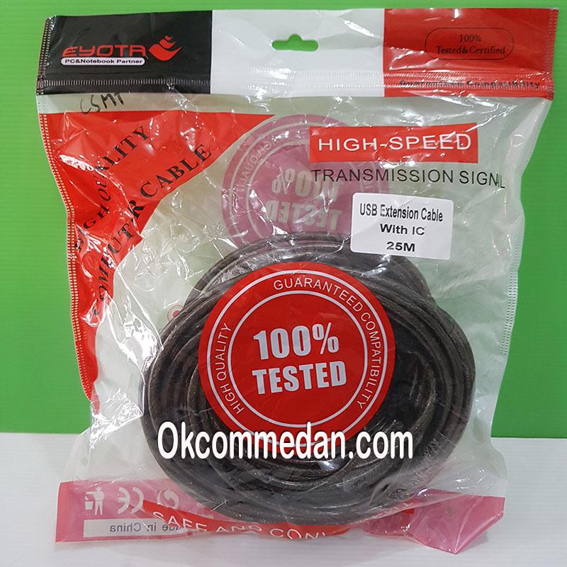Kabel Perpanjangan USB 2.0 25 meter dengan IC