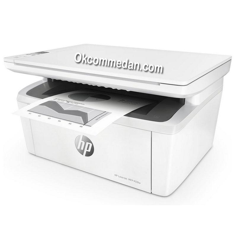 Printer HP Laserjet Pro M28w Print scan copy wifi