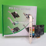Sound Card Pci Express 5.1 Channel