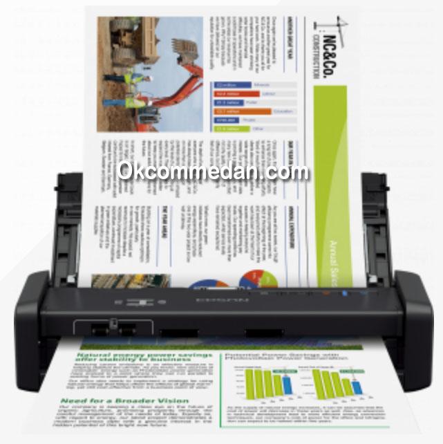 Epson Workforce DS-360w Scanner Wifi dan ada baterai