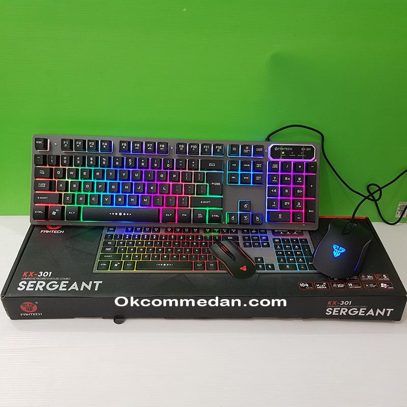 Fantech Kx-301 Keyboard dan mouse gaming