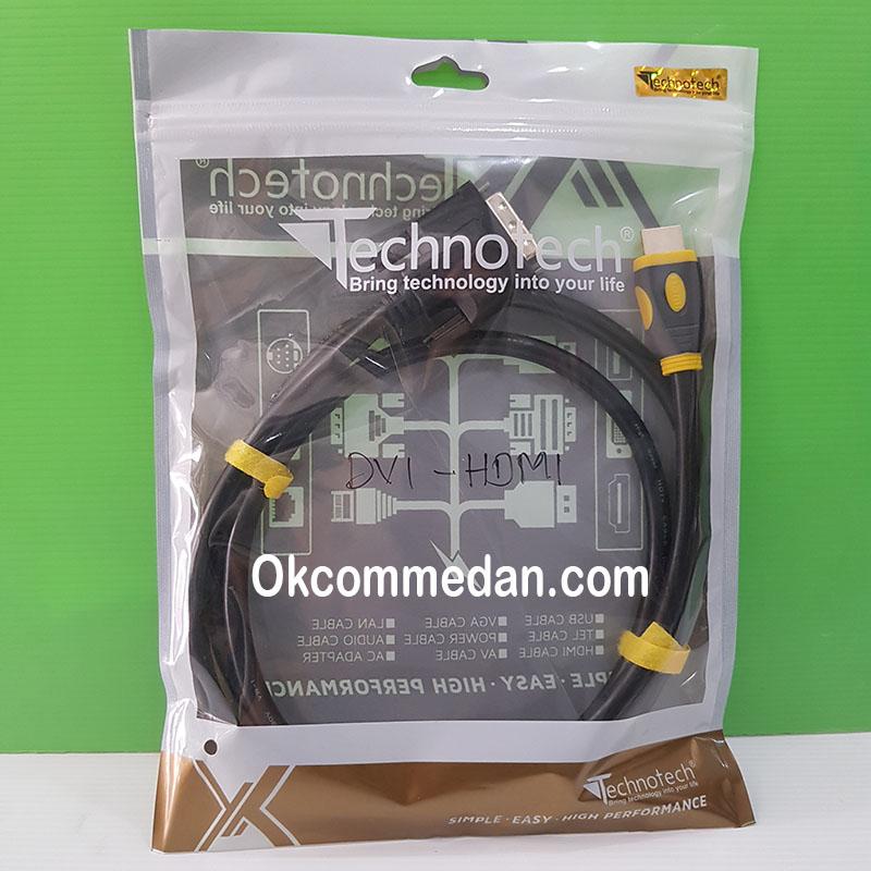 Kabel DVI 24+1 ke HDMi 1,5 meter