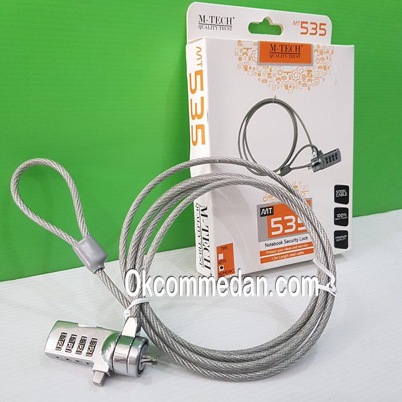 Mtech MT 535 Kabel pengunci laptop