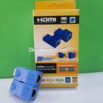 HDMI Extender Dengan Kabel LAN Cat 5e atau Cat 6e