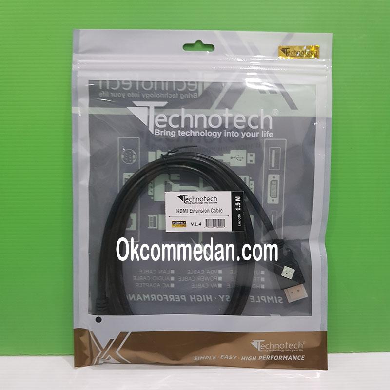 Jual Kabel Perpanjangan HDMI 1.5 meter Versi 1.4