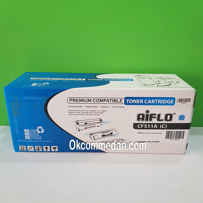 Aiflo Toner Catridge Kompatibel untuk HP 204a Cyan