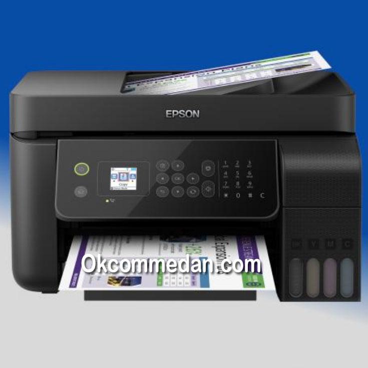 Epson L5190 Printer Inktank Multifungsi Fax wifi Lan ADF