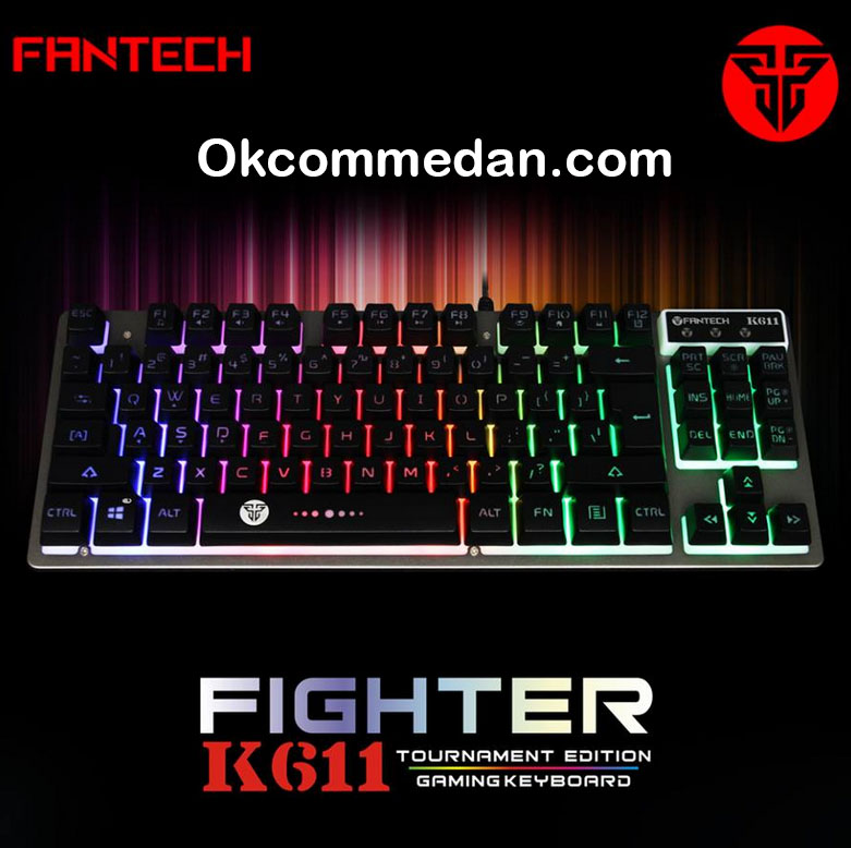 Jual Keyboard Gaming Fantech Fighter K611