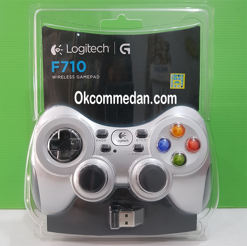 Gamepad Wireless Logitech F710