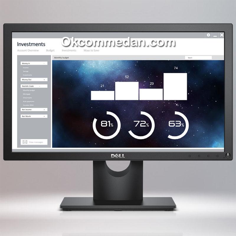 Dell E1916hv Led Monitor 18.5 inchi bergaransi 3 tahun