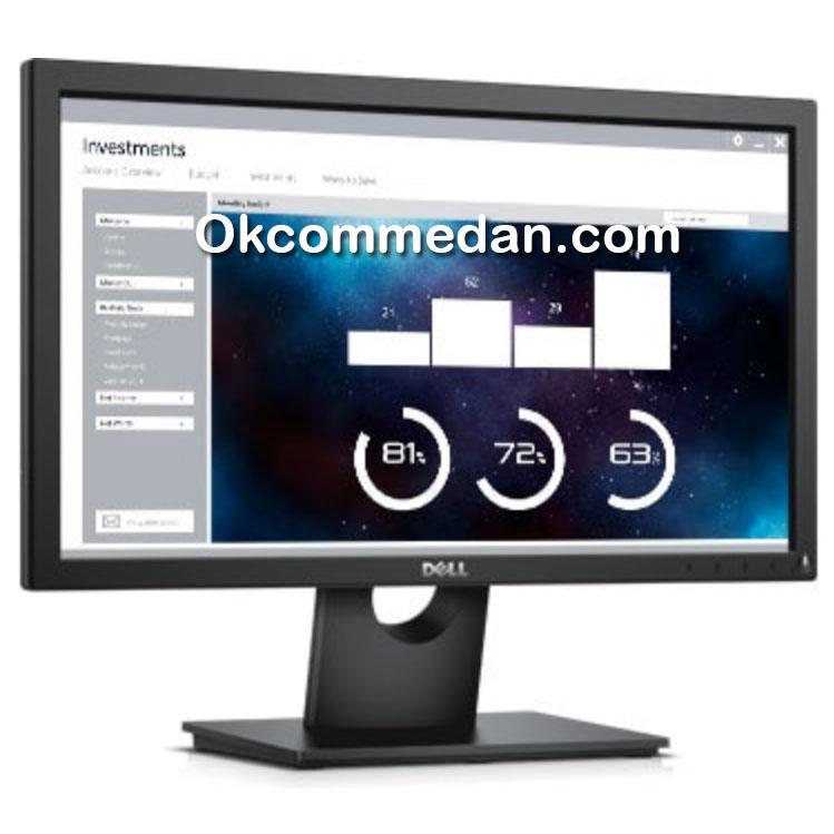 Dell E2016H Led Monitor 19.5 inchi Display port dan VGA