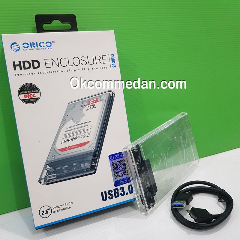 "Orico Enclosure HDD Sata 2.5"" USB 3.0 (2319u3)"
