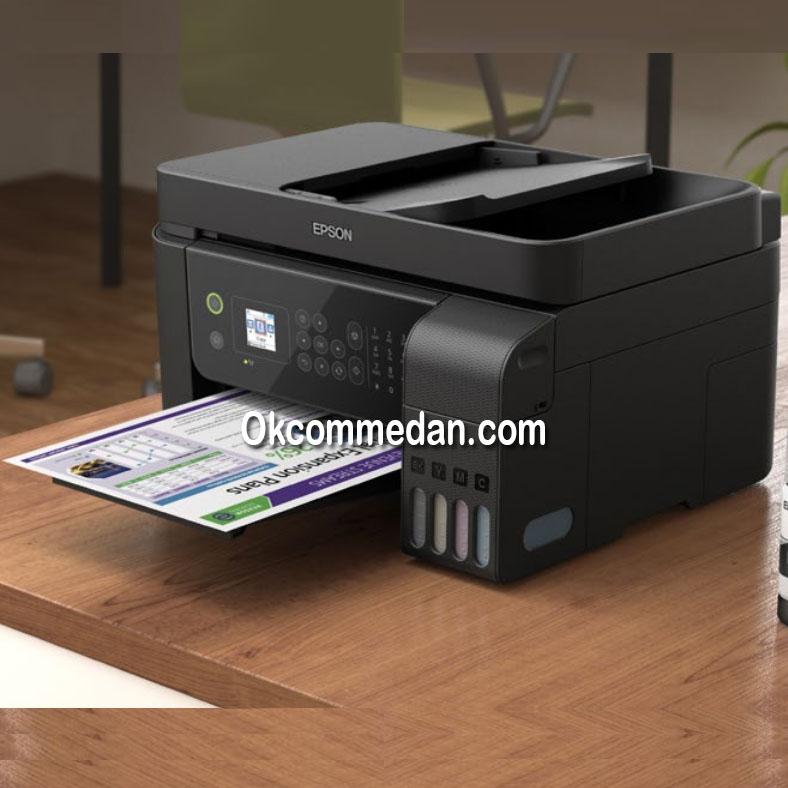 Epson L5190 Printer Inktank Print Scan Copy Fax wifi Lan ADF