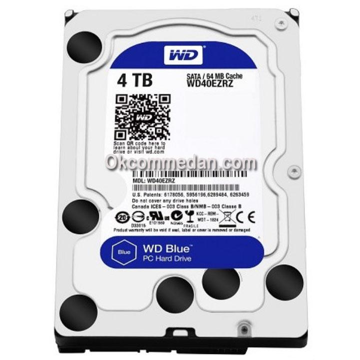 Harddisk PC Desktop WD Blue 4 TB ( WD40EZRZ )
