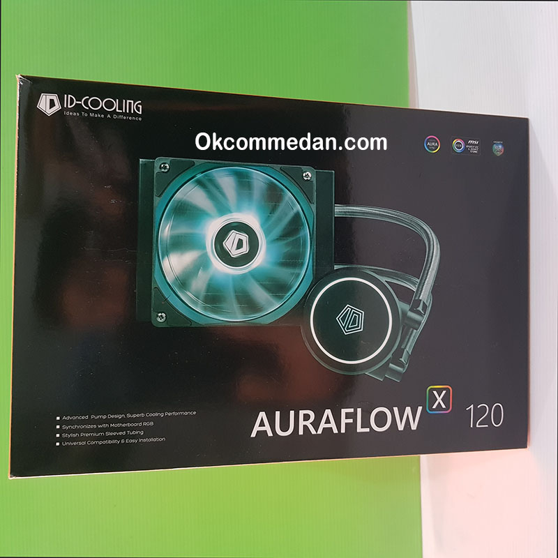 Jual ID-Cooling Auraflow X120 Water cooling CPU