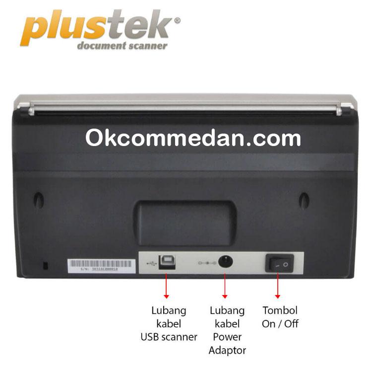 Jual Plustek Scanner Ps388u ADF