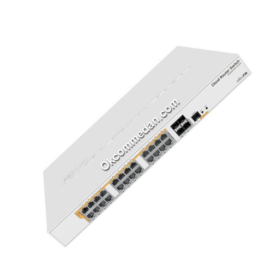 Mikrotik Router CRS328-24P-4S+RM  24 port