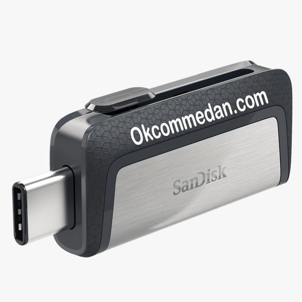 Jual Sandisk Ultra Dual drive USB Tipe C 128 Gb