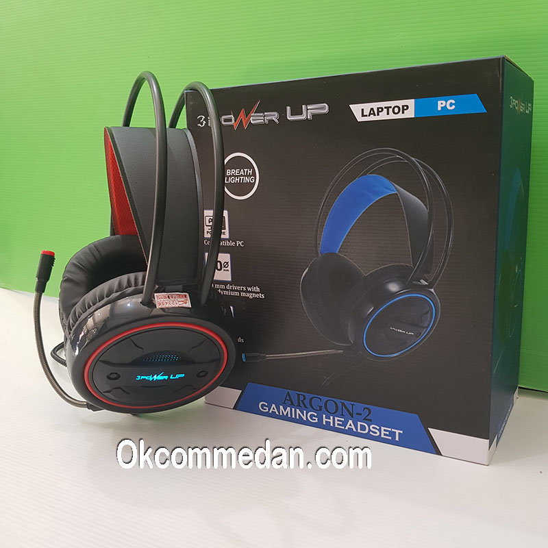 Headset Gaming Power UP Argon 2