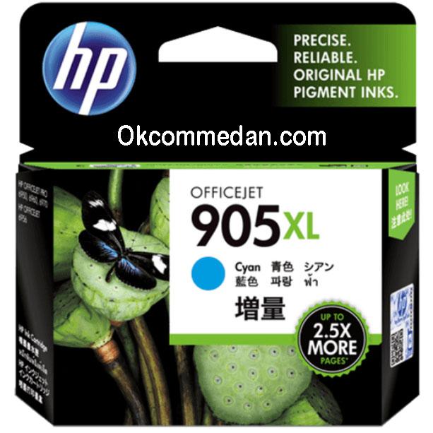 Ink Catridge HP 905XL Cyan Warna Biru