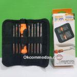 Jakemy Obeng Set 9 in 1 Dua sisi JM-8124